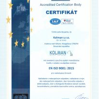 KOLMAN ISO 9001-2015 SK